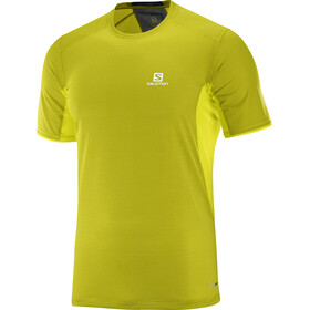 Salomon Trail Runner Running T-shirt Men yellow